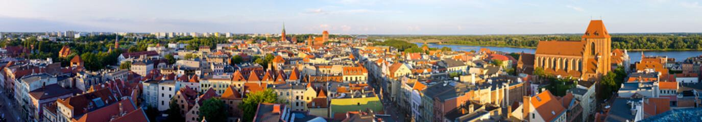 Cityscape of Torun, Poland