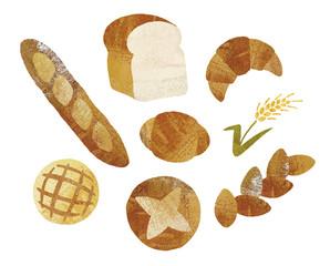 パン油彩セット