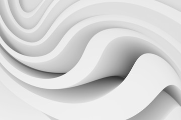 White Abstract Background. Modern Architecture Graphic Design