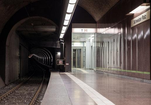 Frankfurt U-Bahn-Tunnel