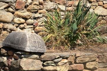 Macédoine du Nord : Site archéologique de Heraclea Lyncestis (Bitola) Wall mural