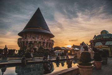 French Village Bana Hills, in Sun World, Danang, Central Vietnam