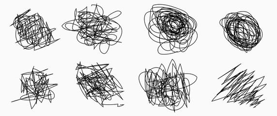 Obraz Pencil vector scratch .  - fototapety do salonu