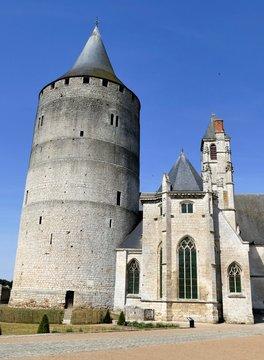 Donjon et chapelle du Château de Châteaudun, Eure-et-Loir, France