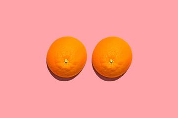 Close up of orange fruits