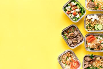 Foto op Aluminium Eten Healthy food delivery
