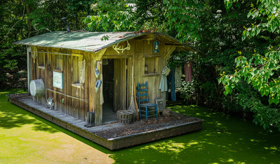 Swamp Houseboat