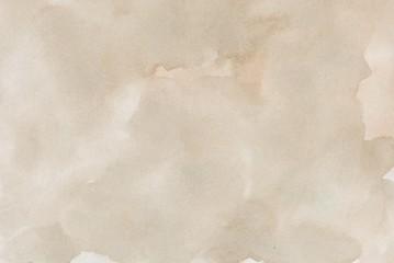 Obraz abstract beige splotchy ink watercolor paper background - fototapety do salonu
