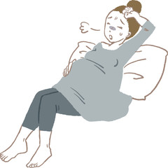 妊婦 疲れ