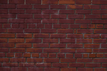 Painted brick wall background texture