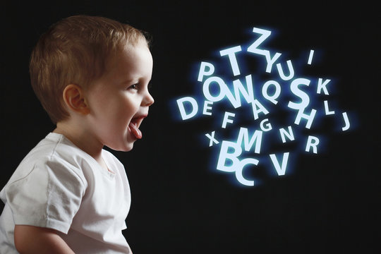 Baby says, the concept of problems with dyslexia and dysgraphia. A child learns to speak