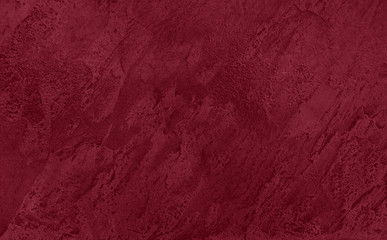 Close up of abstract dark red stone texture  with high resolution. Autumn winter 2020 color trend. Fotoväggar