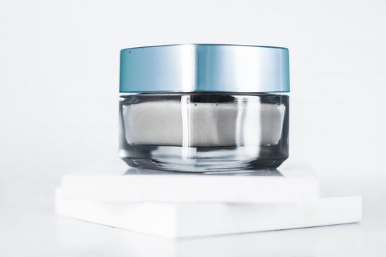 Beauty face cream mask, luxury moisturizing cosmetic product