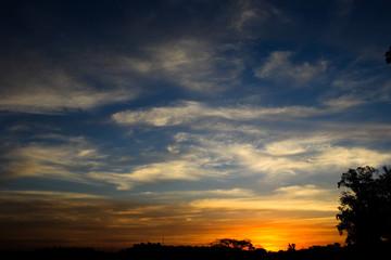 Por do sol ceu natureza foto Renato Lopes