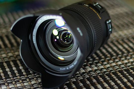 Sigma camera lens macro photo