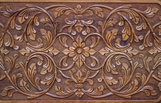 close up for wood carving