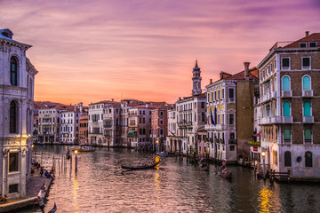 Obraz Views of streets and canals in Venice Italy - fototapety do salonu