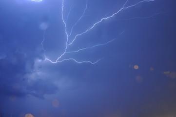 Fototapeta Zap Goes The Lightning Bolt obraz