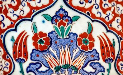 Floral mosaic art of the Ottoman era