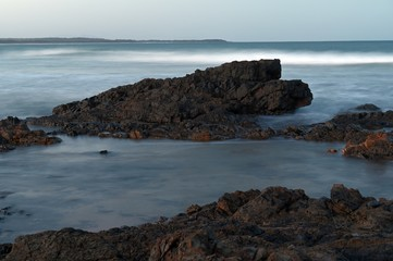 Wall Mural - Australian Coastline Diamond Beach long exposure