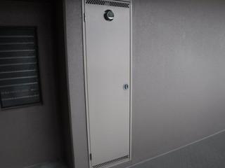 工事写真 鉄の扉