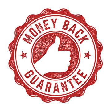 Money Back Guarantee Stamp
