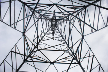 Light electric pole structure And taking pictures in the structure