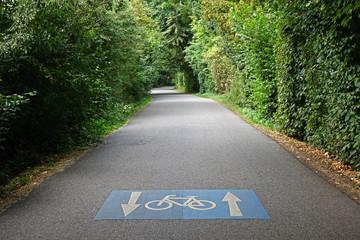 Radfahren erlaubt