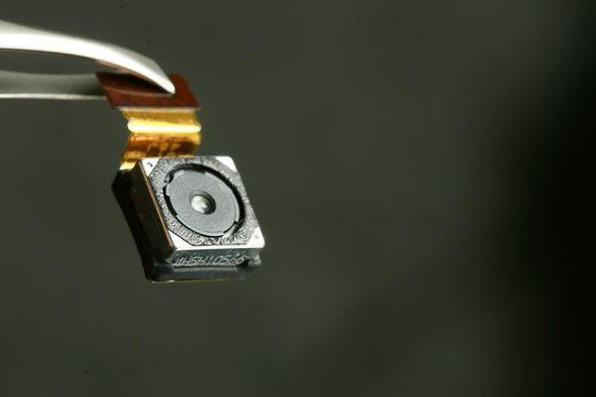 mini spy camera / small video camera, mini, security concept