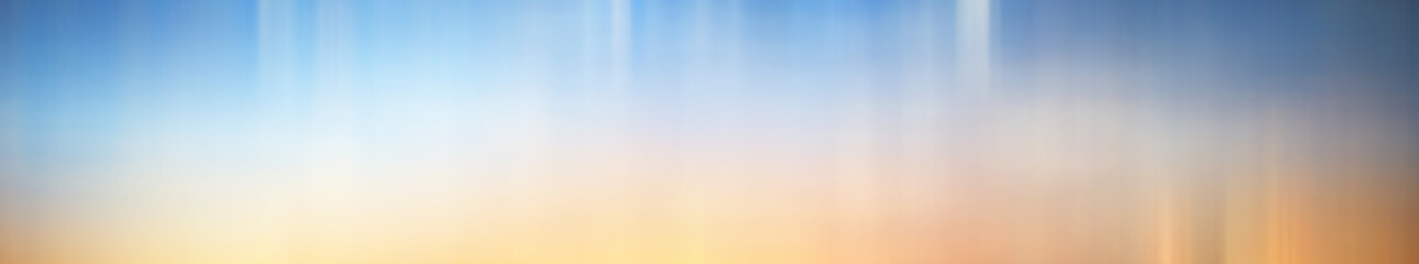 Blurred gradient background long horizontal