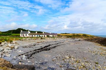 Stony beach at Moelfre