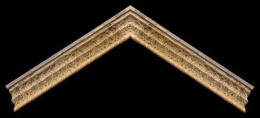 Gypsum cornice, moldings, baseboards, friezes