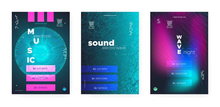 Trance Electro Music. Electronic Sound