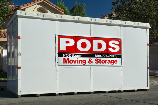 PODS Moving and Storage Cube