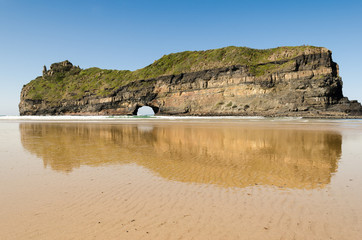 The spectacular Hole In The Wall near Coffee Bay in the Transkei(Wild Coast) - South Africa