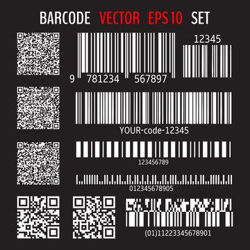 Various bar codes