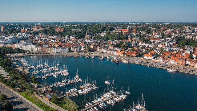 Cityscape of Flensburg