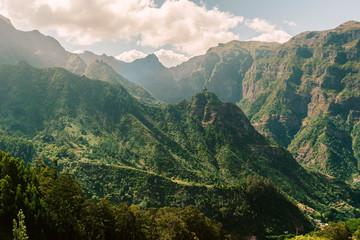 green mountains of Madeira Fototapete