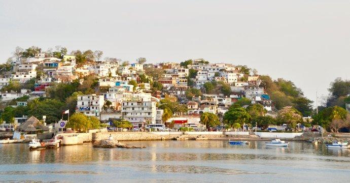Manzanillo Mexico Waterfront