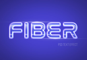 Layered Line Text Effect