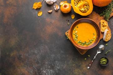 Fotobehang - Pumpkin Soup
