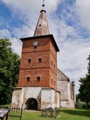 Kirche in Litauen bei Rusne