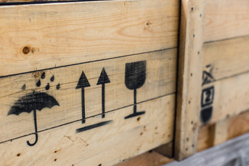 Symbol on the cargo crate