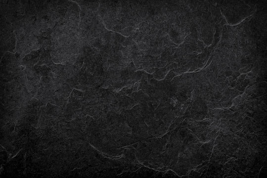 Natural grey black stone texture for background