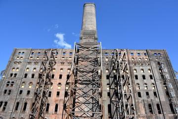 Domino Sugar Refinery in Brooklyn, New York