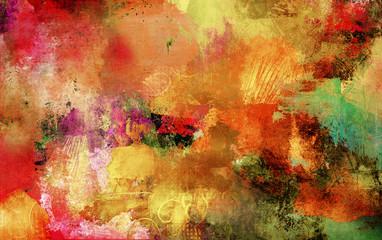 herbstfarben texturen malerei farben banner