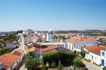 Landscape of Terena village, Portugal