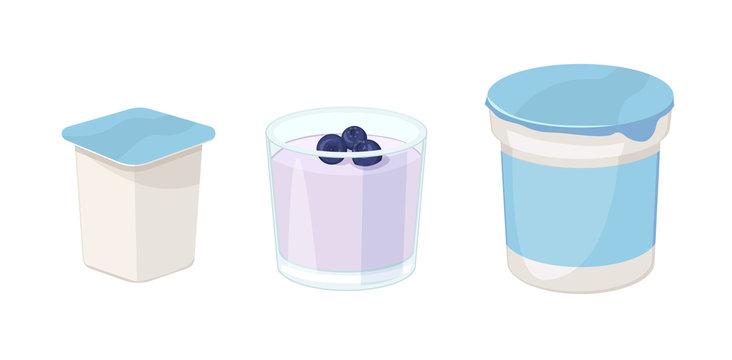 Yogurt icon. Isometric illustration of yogurt vector illustration isolated on white