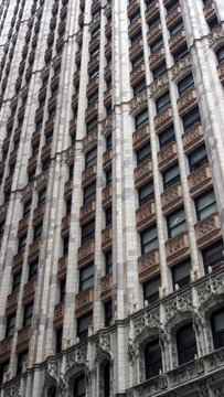 New York City: Fassade des Woolworth Building