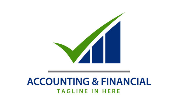 Accounting and financial logo